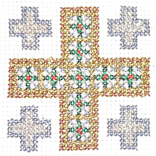 Christian Symbols Christmas Ornaments Interesting Chrismon Patterns