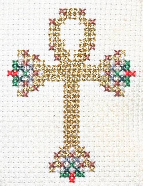 Christian Symbols Christmas Ornaments