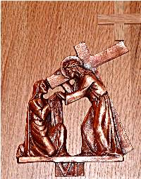 Catholic Stations of the Cross: 6