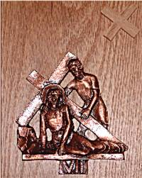 Catholic Stations of the Cross: 7