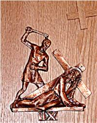 Catholic Stations of the Cross: 9