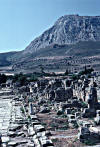 The Roman city of Corinth